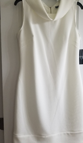 Off white dress with Jackie Kennedy style NWT
